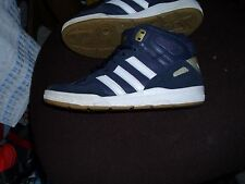 MENS OLDER BOYS  ADIDAS HIGHTOPS  TRAINERS  SIZE UK 5   IN EXCELLENT CONDITION