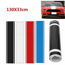 1x Car Decal Vinyl Graphics stickers Hood Dual Racing Stripe for Mustang