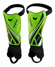 Erima Football Soccer Resista 5.0 Shin Guards Shin Pads Green Black