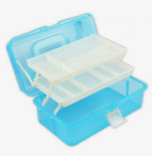 3 Layer Multifunction Portable Foldable Plastic Tool Box Kids Art Painting Box