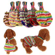 1Pcs Pet Female Dog Puppy Suspender Strap Sanitary Pants Underwear Cloth Diaper