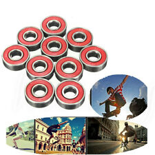 New 10pcs Skate board Longboard Scooter Roller Bearings 608 RS 2RS ABEC-5 7 9
