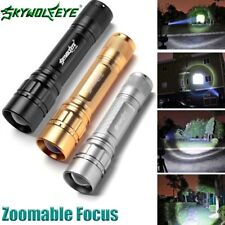 3 Colors15000LM 3-Modes Flashlight CREE XML T6 LED 18650 Zoomable Torch Lamp M