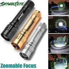 3 Colors15000LM 3-Modes Flashlight CREE XML T6 LED 18650 Zoomable Torch Lamp K