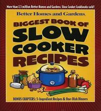 Biggest Book of Slow Cooker Recipes (Better Homes & Gardens) Cook Book