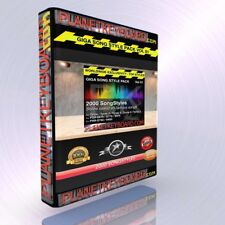 GIGA PACK VOL 01 2000 SONGSTYLES - SONG STYLES FOR YAMAHA TYROS TYROS 2 PSR-S900
