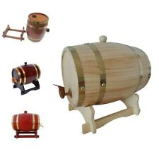 1.5 L Wooden Barrels,Wine Cask, Whiskey Barrel ,Rum,Cider, Beer Keg 4 Colors