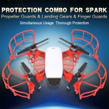 DJI SPARK Drone RC Extend Landing Legs Gear & Propellers Guards Protection Kit