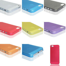 0.2mm Ultra Thin Clear Matte Back Plastic Case Cover Skin For iPhone 4 4G 4Gs 4S