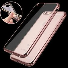 Crystal Thin Plating Silicone TPU Case Cover Skin for Apple iPhone 6&6s 4.7/Plus