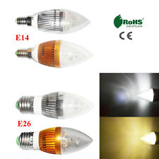 Dimmable E14 E26 110V 9W High Power LED Chandelier Bulb Candle Light Lamp