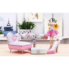 Flower Sofa Shoe Mannequin Earrings Necklace Ring Jewelry Holder Stand Display