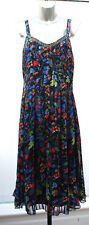 Ladies M&S Per Una Size 12 Floaty Strappy Holiday Summer Dress Bnwt
