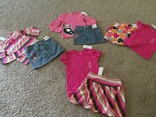 U PK GYMBOREE PANDA ACADEMY SKIRT AND TOP OUTFIT VALENTINE HEART 6 9 7 12 NWT