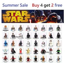 2017 Star wars Custom Mini figures stormtrooper Darth Vader Yoda jedi Fits lego