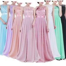 Women Evening Long Dress Cocktail Wedding Party Prom Formal Bridesmaid Ball Gown
