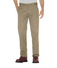 DICKIES SLIM STRAIGHT FIT FLAT FRONT MENS KHAKI WORK PANTS AUSTRALIA