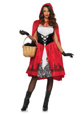 Womens Classic Red Riding Hood Sexy Costume