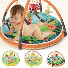 Infant Baby Playmat Activity Gym Soft Toys Tummy Time Pad Crawling Mat