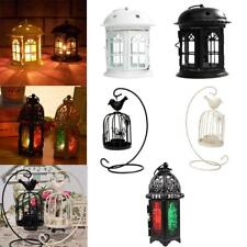 Moroccan Styles Tea Light Candle Holder Lantern Garden Home Ornament 6 Styles