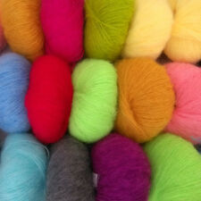 Wholesale Soft comfortable Luxury Angola Mohair Cashmere Wool Yarn Skeins Winter