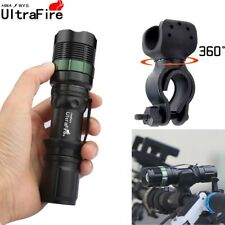Ultrafire 12000LM Zoomable CREE XML T6 LED Flashlight Torch Super Bright Light A