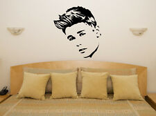 Justin Bieber Pop Bedroom Living Room Music Decal Wall Art Sticker Picture