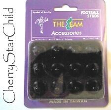 12 x high quality Nylon screw in football soccer studs 13mm black in box