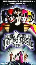 Mighty Morphin Power Rangers: The Movie (VHS, 1995)