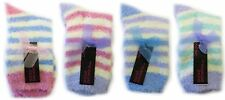 Ladies RJM one size snowsoft striped ankle socks SK292