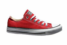 Converse Shoes M9696C Unisex Chuck Taylor All Star Red White Canvas Classic OX