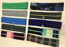 NWOT and VEUC Lululemon Fly Away Tamer Headbands - Free S/H!
