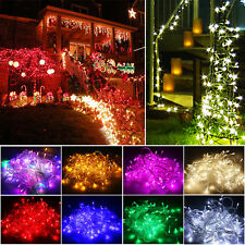 10/20M 100/200 LED Christmas Tree Fairy String Party Light Lamps Xmas Waterproof