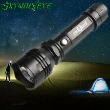 Flashlight 25000LM 3-Mode XML T6 LED 18650 Torch Camping Hiking Cycling Light