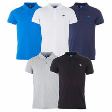 Adidas Originals Mens Adi Pique Polo Shirt Golf Shirts Tee All Sizes Colours