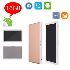 New 9.6 inch Tablet PC Android 7.0 Octa core Pad 16GB Dual Camera 3G Phone Call