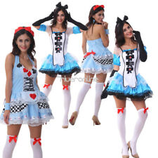 Sexy Women Naughty French Maid Dress Costume Cosplay Fancy Night Party Halloween