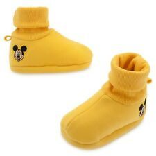 New Disney Store Yellow Mickey Mouse Baby Costume Shoes 6 12 18