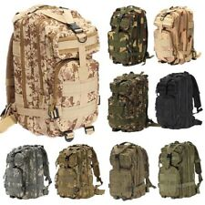 40L Hiking Camping Bag Army Military Tactical Trekking Rucksack Backpack Camo
