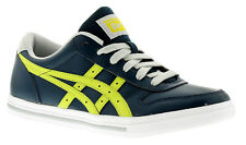 New Older Boys/Childrens Blue Asics Aaron Lace Ups Trainers UK SIZES