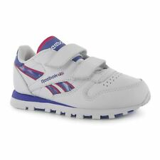 Reebok Classic Tech Trainers Juniors White/Purple/Pink Sports Shoes Sneakers