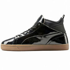 Puma Play Nude Sneaker Black Men's Shoes Patent Leather Leisure NEW 361469-01