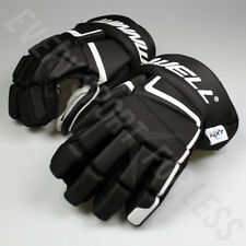Winnwell AMP500 Senior Hockey Gloves - Black (NEW)