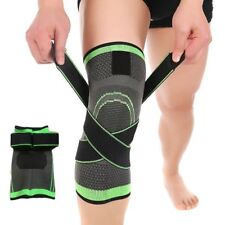 3D Weaving Knee Brace Breathable Sleeve Support Running Jogging Sport Joint Pain