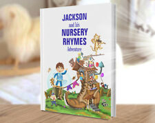 Baby 1st Xmas Stocking Filler, A Personalised Book of Nursery Rhymes and Poems