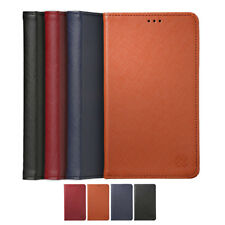 Limit Genuine Cow Leather Card Slim Wallet Diary Case For Samsung Galaxy Note8