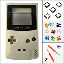 Nintendo Game Boy Color GBC Replacement Housing Shell Screen Gold BUTTONS!
