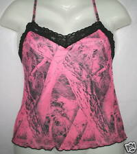 NAKED NORTH CAMO PINK CAMOUFLAGE CAMISOLE LINGERIE