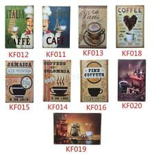 Beer Coffee Retro Vintage Bar Metal Tin Sign Poster Style Wall Pub Home Decor