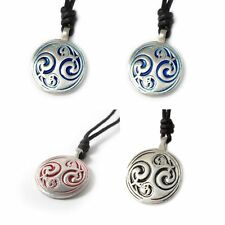 Stunning Ying Yang Feng Shui Silver Pewter Charm Necklace Pendant Jewelry
